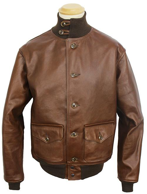 4320d6d0515 Air Corps US Army Type A-1. The First USAC Leather Flight Jacket.