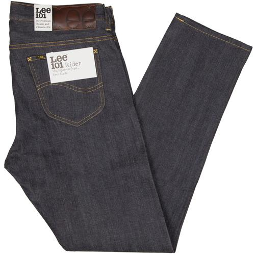 d0d726bc Lee 101 Rider Dry 14oz Jeans, Aero Leathers, Scotland, UK